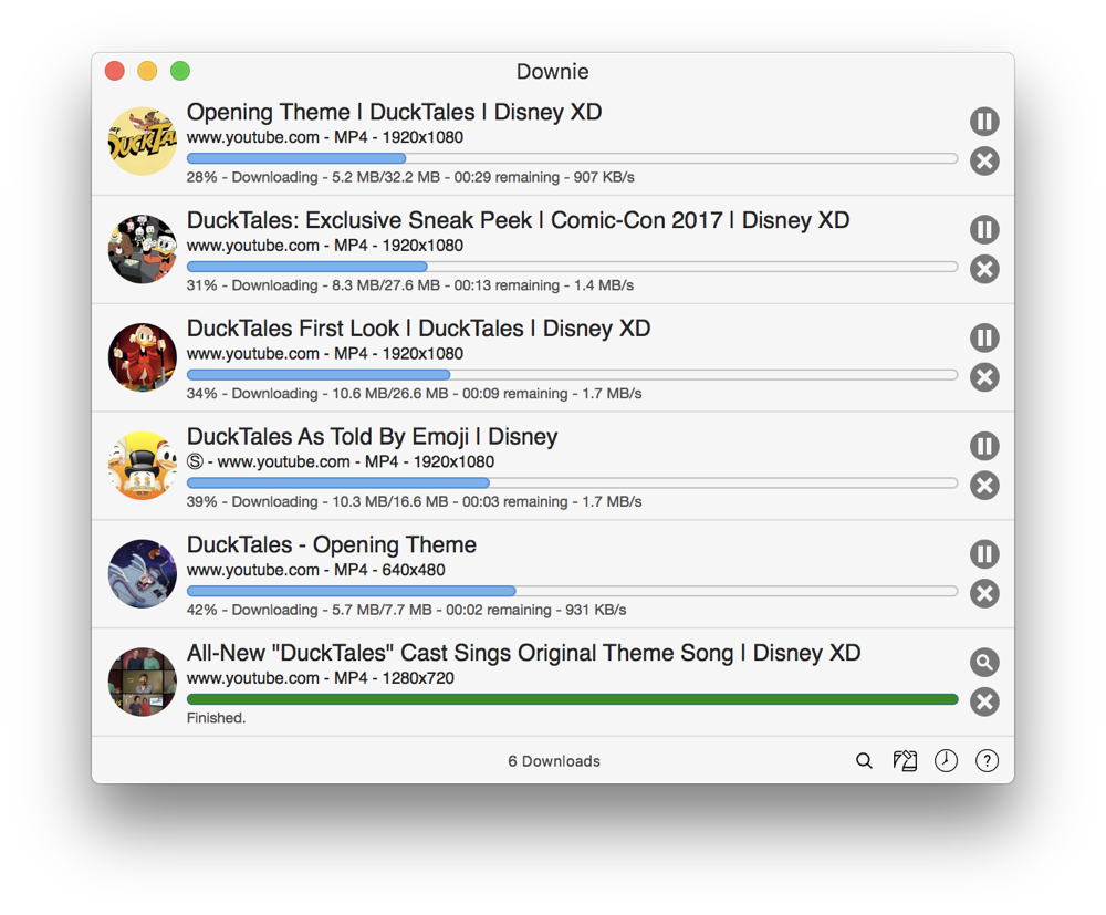 Downie视频下载器-轻松下载数千个不同网站的视频